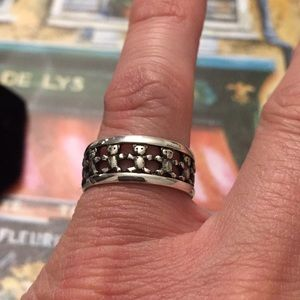 James Avery sterling silver ring Retired